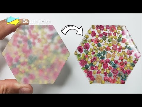 How to sand and polish epoxy resin coaster   Resin Diy
