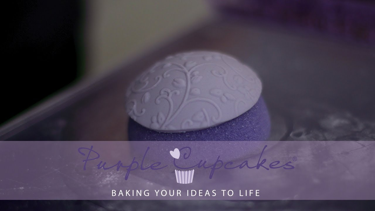How To Use Foam Balls For Making Domed Cupcake Toppers