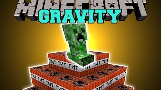 Minecraft: GRAVITY (MOB TRAPS, HOME PROTECTION, & MINI PLANETS!) Mod Showcase