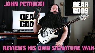 Download John Petrucci Reviews His Own Signature JP95 Dunlop Cry Baby | GEAR GODS MP3 song and Music Video