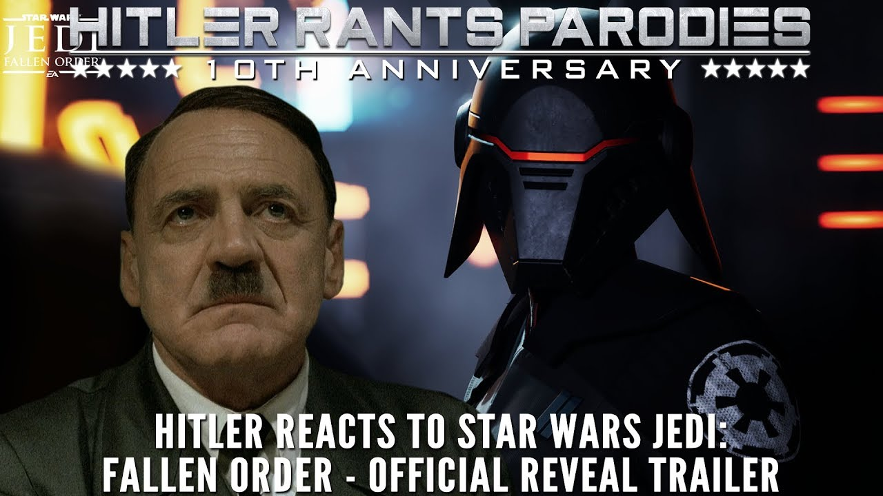 Hitler reacts to Star Wars Jedi: Fallen Order - Official Reveal Trailer