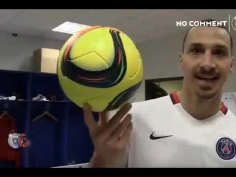 This is Zlatan Ibrahimovic