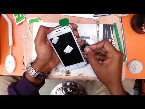 Samsung j1Ace display replacement. By. Afsal.
