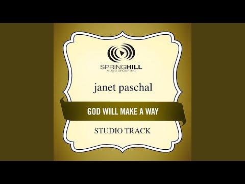 God Will Make A Way (High Key-Studio Track w/o Background Vocals)