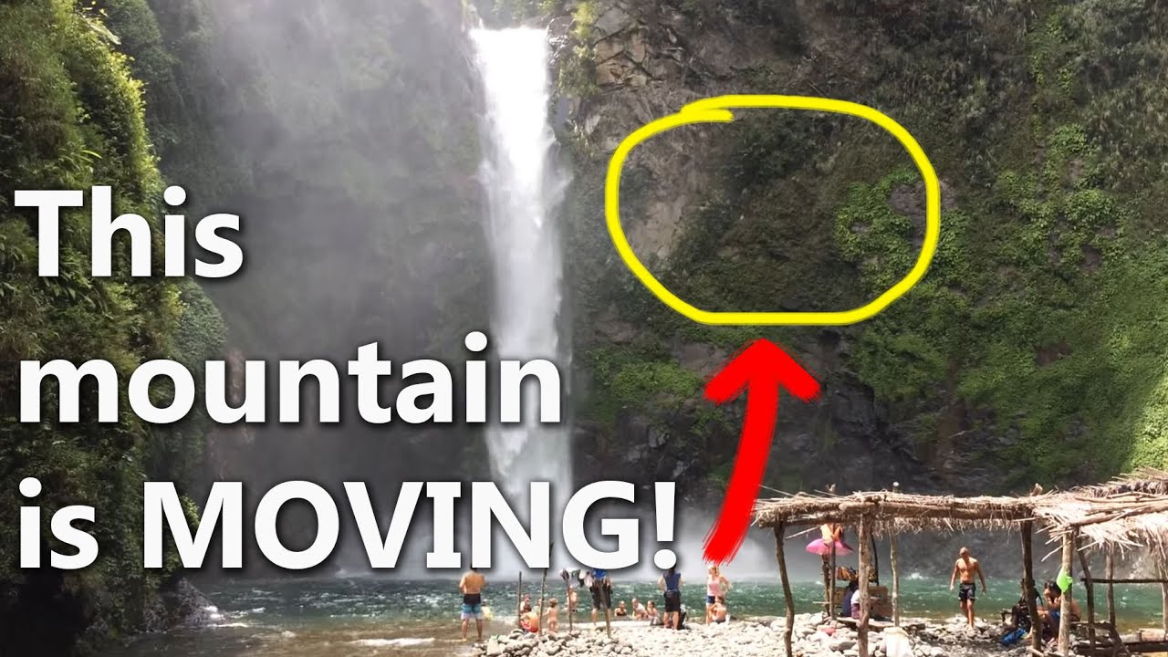 Philippines: A Very Cool Optical Illusion With A Waterfall