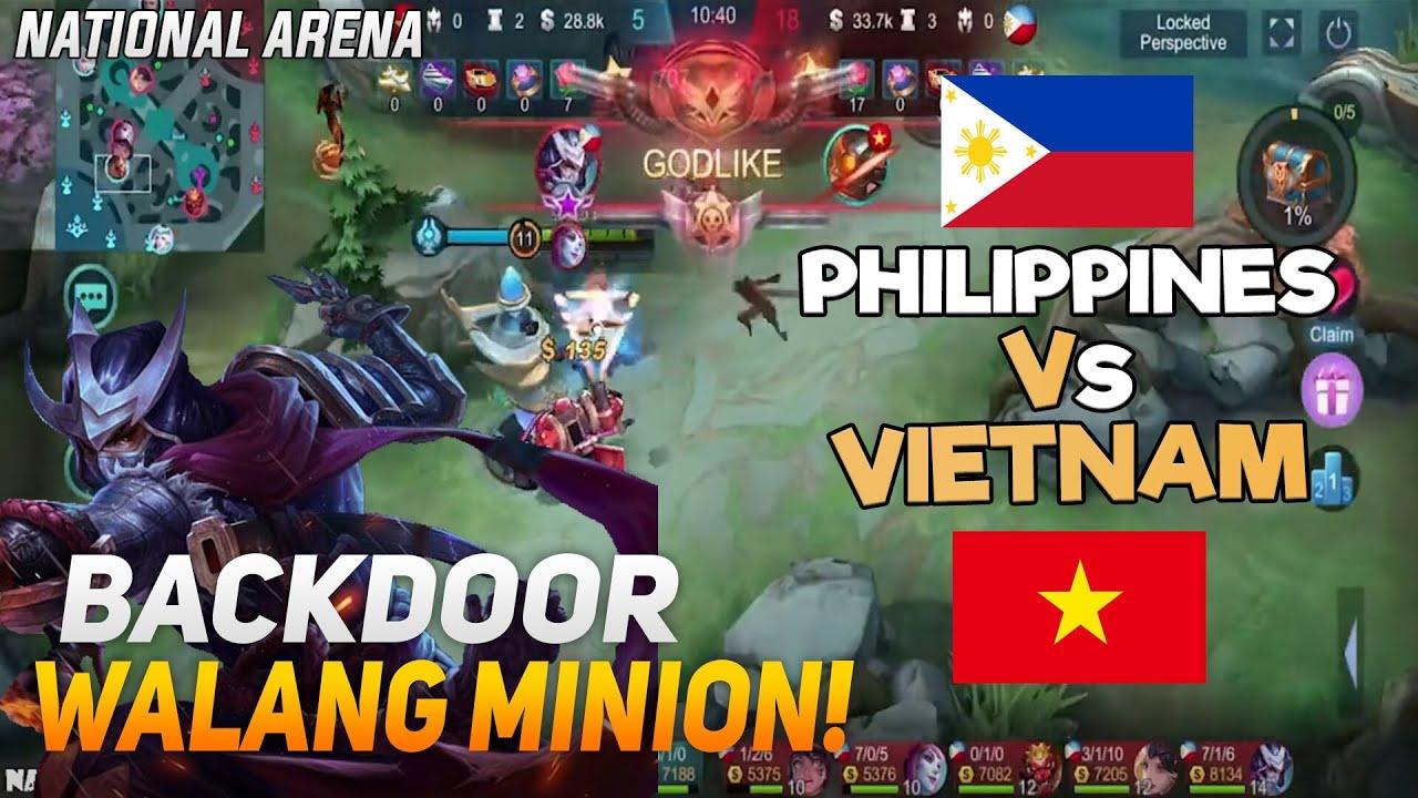 BACKDOOR NA WALANG MINION | Team Philippines vs Team Vietnam