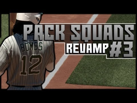 PACK SQUADS #3! INSANE COMEBACK & EXTRA INNING THRILLER! MLB 17 DIAMOND DYNASTY!