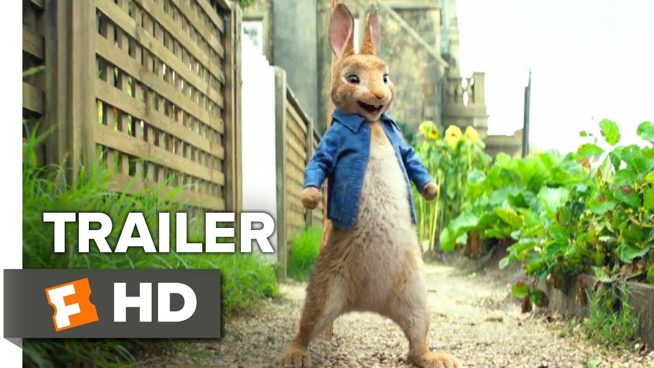 Peter Rabbit International Trailer 1 2018 Movieclips Trailers Youtube