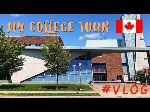 #VLOG 1 || MY COLLEGE TOUR IN CANADA || SENECA YORK CAMPUS