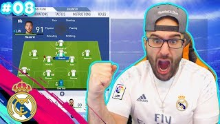 WOW MOST OVERPOWERED FORMATION IN FIFA! FIFA 19 Real Madrid Career Mode #08