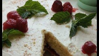 Покрокова інструкція як зібрати бісквітний торт.
