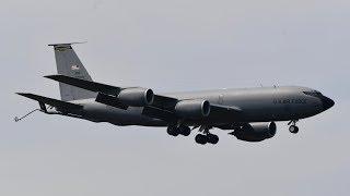 2019.5.18 三沢基地 KC-135R Mississippi アンダーセン空軍基地より飛来