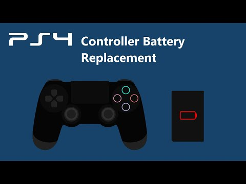 How to fix a PS4 Controller that does not charge (Battery Replacement)