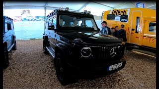 MERCEDES BENZ AMG G63 G-CLASS W464 NEW MODEL 2018 BY LETECH OFFROAD SHOW CAR WALKAROUND