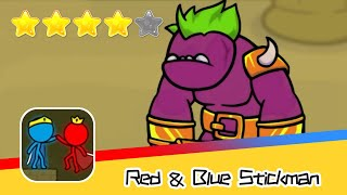 Red and Blue Stickman : Animation Parkour Day50 Walkthrough Recommend index four stars