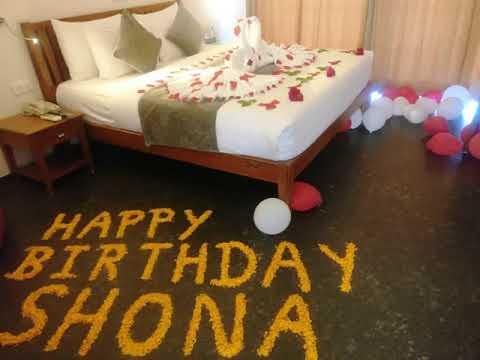 Ideas For Birthday Decoration in Hotel Room