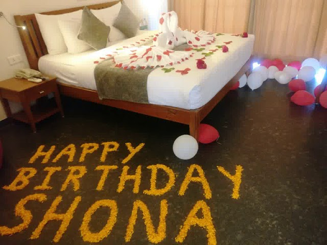 Ideas For Birthday Decoration In Hotel Room Youtube