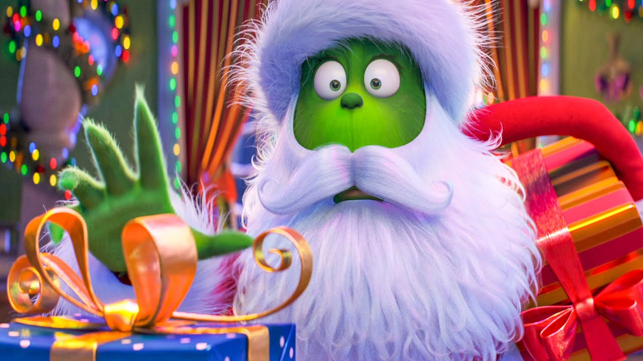cd289e457a22 THE GRINCH - Stealing Christmas Presents Scene (2018) Movie Clip ...