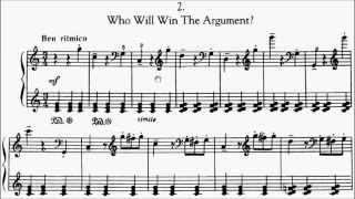 RCM Piano 2015 Grade 9 Study No.11 Kabalevsky Who'll Win the Argument? Op.88 No.2 Sheet Music