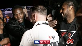 Joshua Buatsi & Andre Sterling clash at NXTGEN weigh-in 🥊😡
