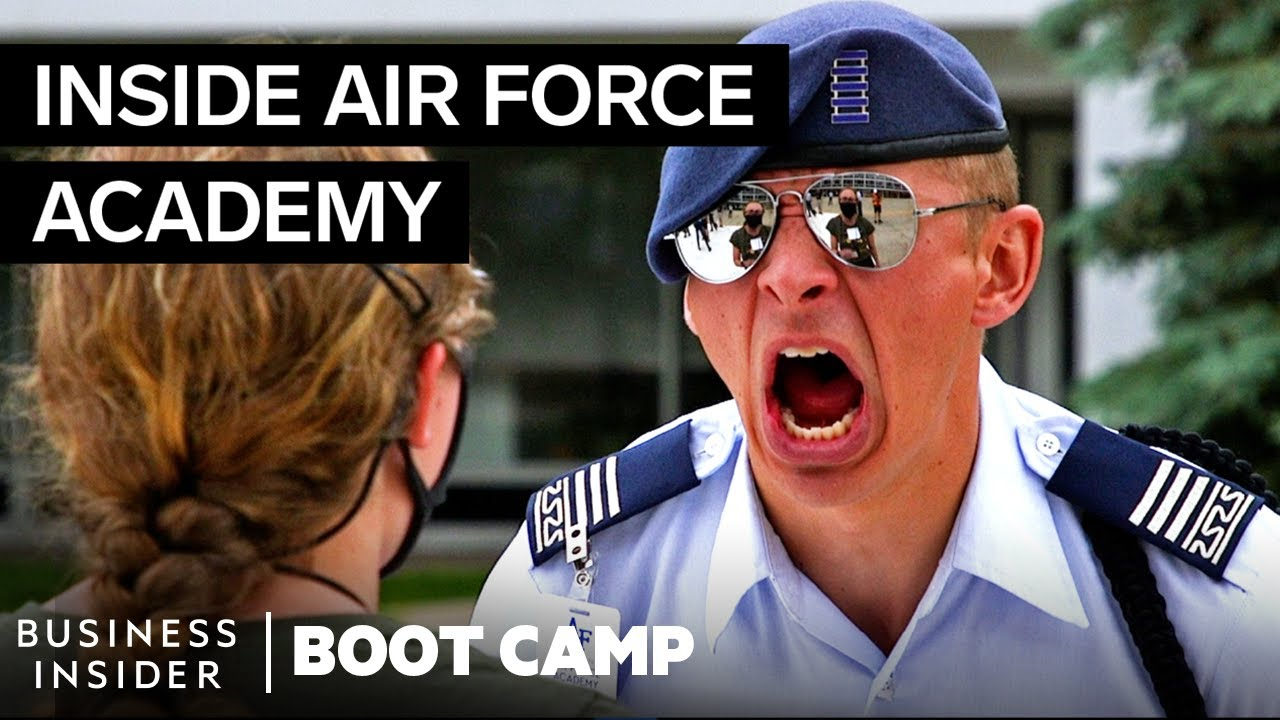 What New Air Force Cadets Go Through On Day One At The Academy | Boot Camp