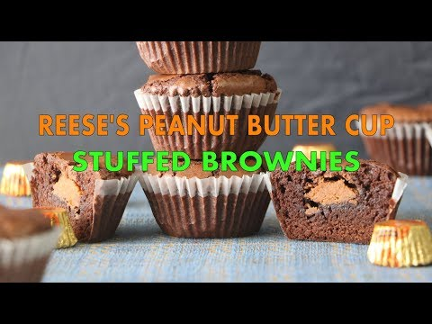 Reese's Peanut Butter Cup Stuffed Brownies – URBAN HIJAB LifeStyle