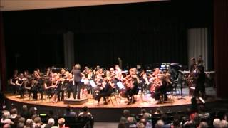 """Leap of Faith"" by Randy Sabien - Monticello Community Strings Orchestra 2012"