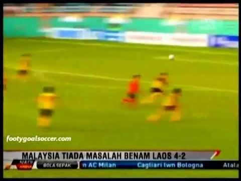 [Newspaper Cup 2012] : Harimau Muda Vs Laos B21