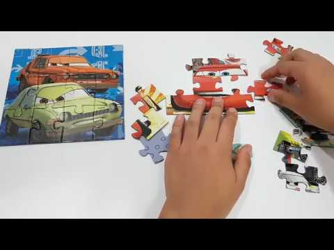 Disney Cars Worldwide Racing *Rompecabezas para niños* Cars* Learning Activities *for kids*