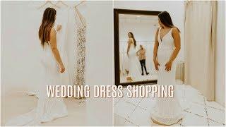 WEDDING DRESS SHOPPING!  Vlogtober Day 27 | Franceska Garza Vlog