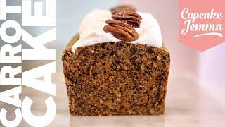 Classic Carrot Cake Recipe  Cupcake Jemma