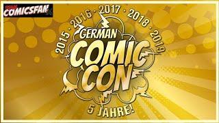 German Comic Con Dortmund 2019 - Interviews und Impressionen zur Dezember Messe (German/English)
