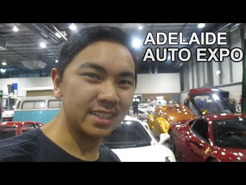 ADELAIDE AUTO EXPO HAS LOADS OF CRAZY CARS!!