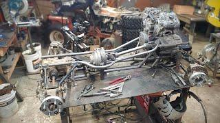 KTM 4WD Go Kart Build / Frame + Drivetrain