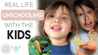 Homeschooling & Unschooling with Brett & the Kids VLOG