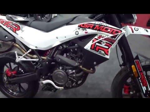2016 Generic KSR MOTO TR 125 SM 15 Hp * see also Playlist