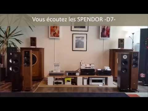 SPENDOR D7 vs ELAC FS407 : comparaison en direct
