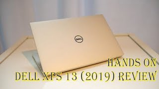 Dell XPS 13 2019 Review : Hands on