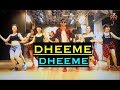 🔥 Dheeme Dheeme 🔥Bollywood Zumba | Tony Kakkar | Easy Steps | Vishal Choreography