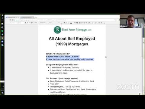 Self Employed Mortgage Chat