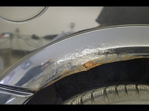 """Auto Paint Repair Guide - Part 1 """"Repairing holes and deep damages in metal parts"""" GB"""
