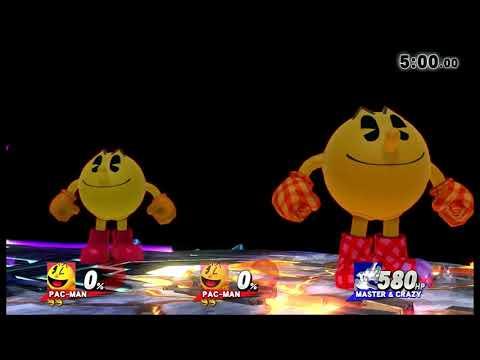 Super Smash Bros. For Wii U Co-op Classic: Pac-Man