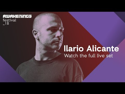 Awakenings Festival 2018 Sunday - Liveset Ilario Alicante @ Area V