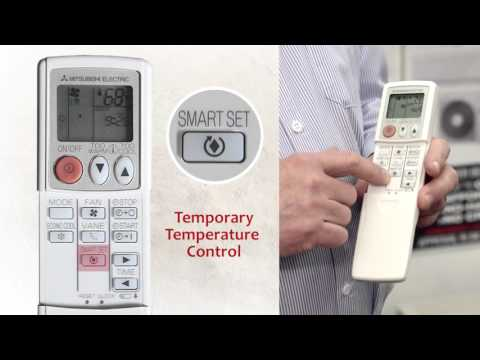 How To Use A Mitsubishi Air Conditioner Remote Control .