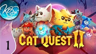 Cat Quest II Ep 1: DANGEROUS DOGGOS - First Look - Let's Play