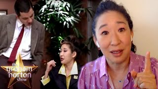 Sandra Oh's First Movie Was MR. BEAN! | The Graham Norton Show