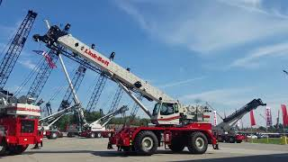 Video still for 100RT Highlights at Link-Belt Crane Fest, Lexington, Ky.