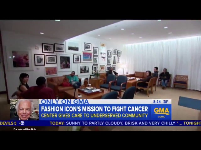 RALPH LAUREN | INSIDE THE RALPH LAUREN CENTER FOR CANCER CARE