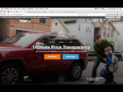 How To You Use TrueCar To Get The Lowest Price On A New Car