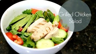 Grilled Chicken Salad w/ Honey Mustard Dressing Recipe Thumbnail